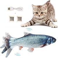 ASDFG Flysee Katzenspielzeug Elektrische Fische 6