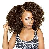 Brasilianisches Echthaar flauschig Afro Kinky Curly Perücken mit Baby Haar für schwarz Frauen 130% Dichte Full Lace Pre gegriffen Perücke von Hand hergestellt remeehi