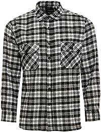 Dalsa TB Vêtements pour Homme Travail Chemises Lumberjack de Coton brossé  Flanelle Manches Longues Chemise à cfdf6313e9eb
