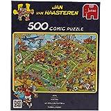 Jumbo 17276 - Jan van Haasteren - Fußballfieber, 500 Teile