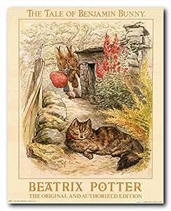 Le conte de Beatrix Potter-Jeannot Lapin-L'Original et autorisé Edition Art Poster Print (16 x 20)