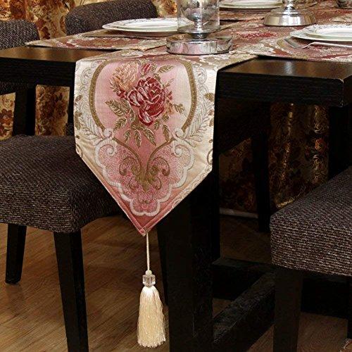 WLM Haushaltswaren Tischdeckeneinfachen und Modernen Kaffee Tv Schrank Tisch Flagge Cloth30X200Cm (12X79Inch),30x45cm (12x18inch),F (Kaffee Tv Und)