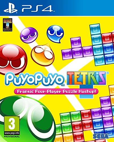Puyo Puyo Tetris: Frantic Four-Player Puzzle Mashup -PlayStation 4