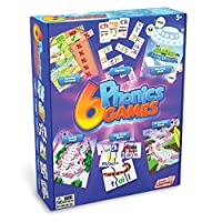Junior Learning 6 Phonics Games Different Games (Set of 6)