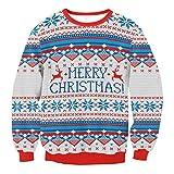 Herren Pullover Btruely Winter Männer Jacke Langarm Mantel Männer Weihnachten Sweatshirt Outwear (S, Grau)
