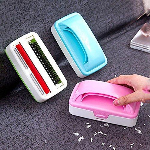 Generic Grün: Hot 1PCS Haushalt Produkte Statische Elektrizität Staubwischen Bett Bürste Griff Sofa Kleidung Teppich Haar Scrap Plüsch Artikel 2017 (Plüsch Umweltfreundliche)
