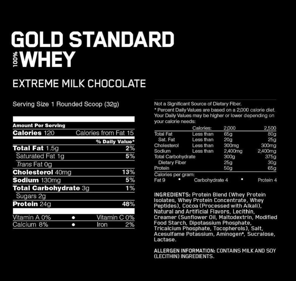 Optimum Nutrition Gold Standard 100% Whey Proteine in Polvere con Proteine Isolat ed Aminoacidi per la Massa Muscolare… 2 spesavip