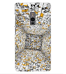 ColourCraft Illusion Design Back Case Cover for OnePlus Two