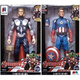 GRAPPLE DEALS Combo Of 2 Avengers Action Figure Toy For Kids. (Thor-C.A)