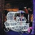 Foxnovo® 30M 300-LED 8-Mode Waterproof LED Luci decorativi lampadine per Natale/ Matrimonio/ Festa/ Giardino (Bianco)