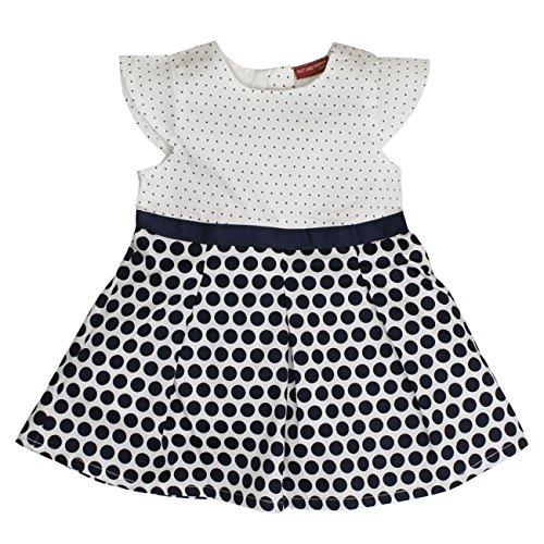 SALT AND PEPPER Baby-Mädchen Kleid B Dress Punkte, Mehrfarbig (Original 099), 86