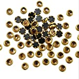 #4: Embroiderymaterial Kundans for Jewellery,Craft,Embroidery Making(Round Shape 4MM 500 Pieces)