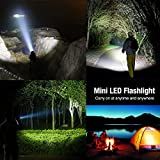 LE Adjustable Focus LED Torch,Super Bright Zoomable LED Flashlight, Batteries Included Bild 6