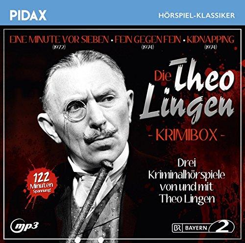 Pidax Hörspiel-Klassiker - Die Theo Lingen Krimibox (Theo Lingen) BR 1972-74 / pidax 2016