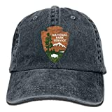 Aoliaoyudonggha Great Smoky Mountains National Park Unisex Denim Baseball Cap Adjustable Strap Low Profile Plain Hats Ou