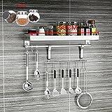 Kitchen furniture Küchenmöbel-WXP Edelstahl-Küchen-Löffel-Schaufel-Gestell-Haushalts-hängende Wand-Küchengeschirr-robuste hängende Rod Hook Up WXP-Küchenschränke und Besteckschränke