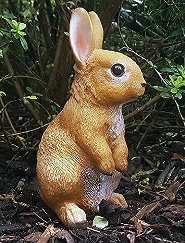 SMALL GARDEN RABBIT ANIMAL STATUE ORNAMENT DECORATION