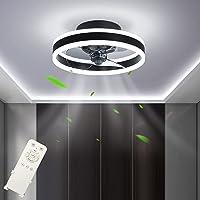 Ventilateur de Plafond LED Dimmable (3000-6500K) Fan Plafonnier Silencieux Ventilateur Plafonnier avec Télécommande 48W…