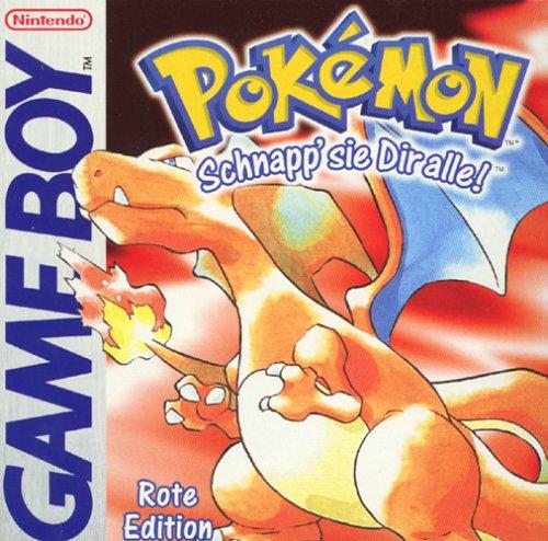 Pokémon - Rote Edition (Game Boy Pokemon Feuer Rot)