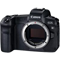 Canon EOS R Gehäuse mit Bajonettadapter EF-EOS R (Vollformat-Systemkamera, 30,3 Megapixel, 8,01 cm (3,2 Zoll) Clear View LCD II, DIGIC 8, 4 K Video, WLAN, Bluetooth)