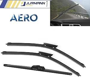Jurmann Vision 3er Komplett Set Aero Scheibenwischer Vorne Hinten Satzr 450 450 325 Mm Auto