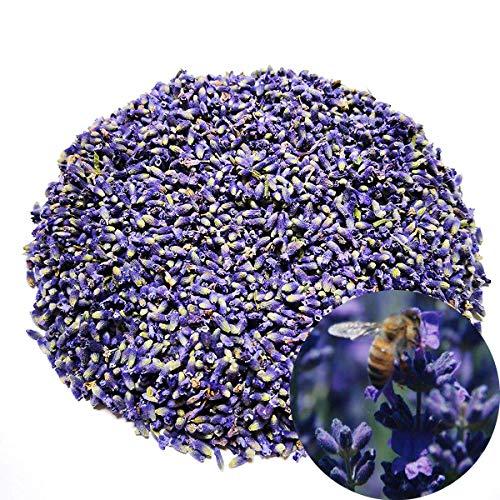 Tooget germogli di lavanda secchi biologici di grado extra fiori ultra-blu lavanda confezionati sottovuoto - 225g