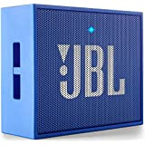 JBL GO Portable Wireless Bluetooth Speaker with Mic (Blue)