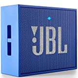 JBL Go - Altavoz Portátil para Smartphones, Tablets y Dispositivos MP3(3 W, Bluetooth, Recargable, AUX, 5 Horas), Color Azul