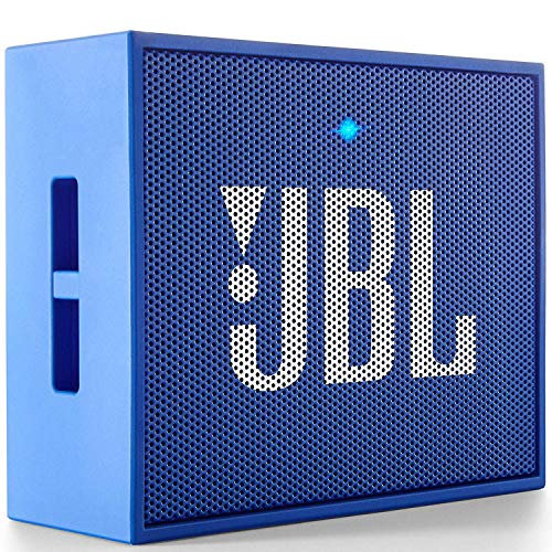 JBL GO JBLGOBLUE Portable Wireless Bluetooth Speaker with Mic (Blue)