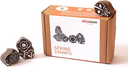 Shumee Wooden Spring Stamps (3 Years+) - Sparks Imagination