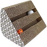 Katzen Kratz Spielzeug, Chenci Katzenspielzeug Kratzmöbel Kratzmatte Kratzbaum kratzbretter aus Wellpappe handgefertigt, Ideal Scratching Beschäftigung Post Scratch Toys für Haustier Pet Häschen