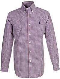5037360f9 Ralph Lauren Men`s Casual Shirt - Red Blue Check