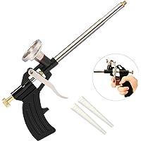 Preciva Pistolet /à Mousse Polyur/éthane pour le Calfeutrage Professionnel Pistolet /à Usage Intensif Manuel