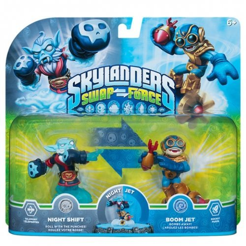 Skylanders Swapforce | Night Shift & Boom Jet | Exclusive Double Pack by Activision Blizzard