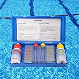 Outddor Water Test Swimming Pool PH Chlorine Water Quality Test Kit Tester Hydrotool Testing Kit Swimming Pool Accessories