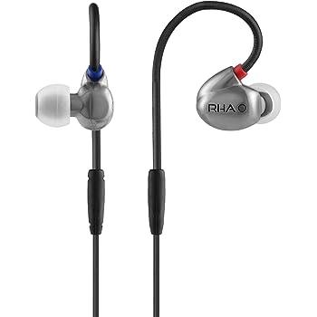 RHA T20: Isolamento di rumore di alta fedeltà, cuffia auricolare a doppia bobina