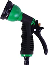 Baal 8 in1 Nozzle Water Spray Gun for Garden and Car Wash, Multicolor, 35 Grams, Pack of 1
