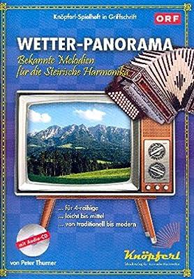 Allenspach, Renato: Wetterpanorama (+CD) : für Steirische Harmonika in Griffschrift