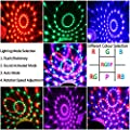Disco Lights, Disco Ball Lights Upgraded 4 Colours RGBP Party Lights Strobe Lights by InnooLight, Remote Control Music Activated DJ Lights Magic Rotating LED Stage Lights for Birthday Parties Pub Indoor Decoration Wedding Celebration KTV Bar