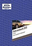 Avery Zweckform 223 Fahrtenbuch für PKW (A5, 40 Blatt) weiß 4 Stück