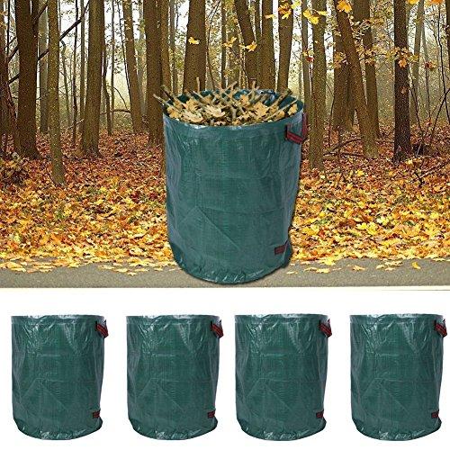4er Set Gartensack Laubsack Gartenabfallsack Abfallsack Müllsack 270L Sack