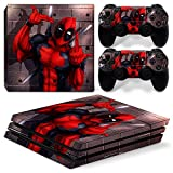 GoldenDeal PS4 Pro Console and DualShock 4 Controller Skin Set - Super Hero - PlayStation 4 Pro Vinyl