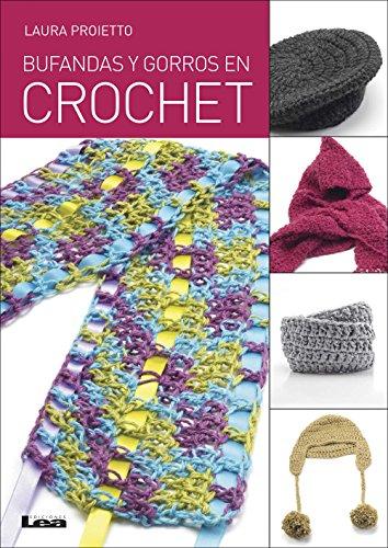 Bufandas y gorros en crochet por Laura Proietto