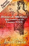 histoire de mlle brion dite comtesse de launay 1754 roman libertin