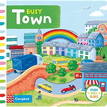 Busy Town (Busy Books) by Rebecca Finn (Illustrator) (Illustrated, 30 Jan 2014) Board book