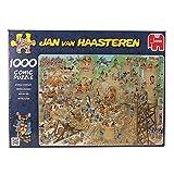 Jan van Haasteren 17213 - Puzzle con diseño de castillo con problemas (1000 piezas)