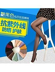 PinWei_ Medias de color finos verano,Código:,1,Negro
