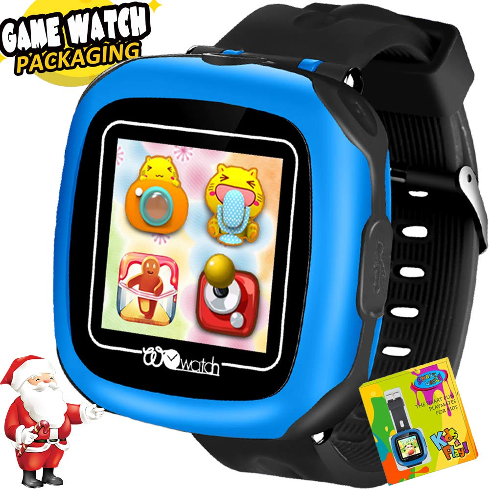 AMENON Smart Watch for Kids 1.5″ Touch Screen with Camera 10 Games Pedometer Alarm Clock Stopwatch Fitness Tracker Sports Wrist Watch Smartwatch for Children Boys Girls Christmas Birthday Gifts