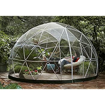 garden igloo 33244 clear greenhouse 142 x 142 x 87 inches. Black Bedroom Furniture Sets. Home Design Ideas