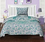 #4: Twin Cotton Mandala Duvet Cover Set Printed Floral Ethnic Green Quilt Cover By Stylo Culture